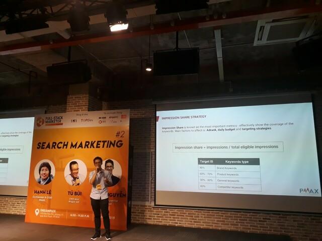 Anh Tùng Nguyễn Senior Expertise @PMAX chia sẽ về Search Marketing SEM 2