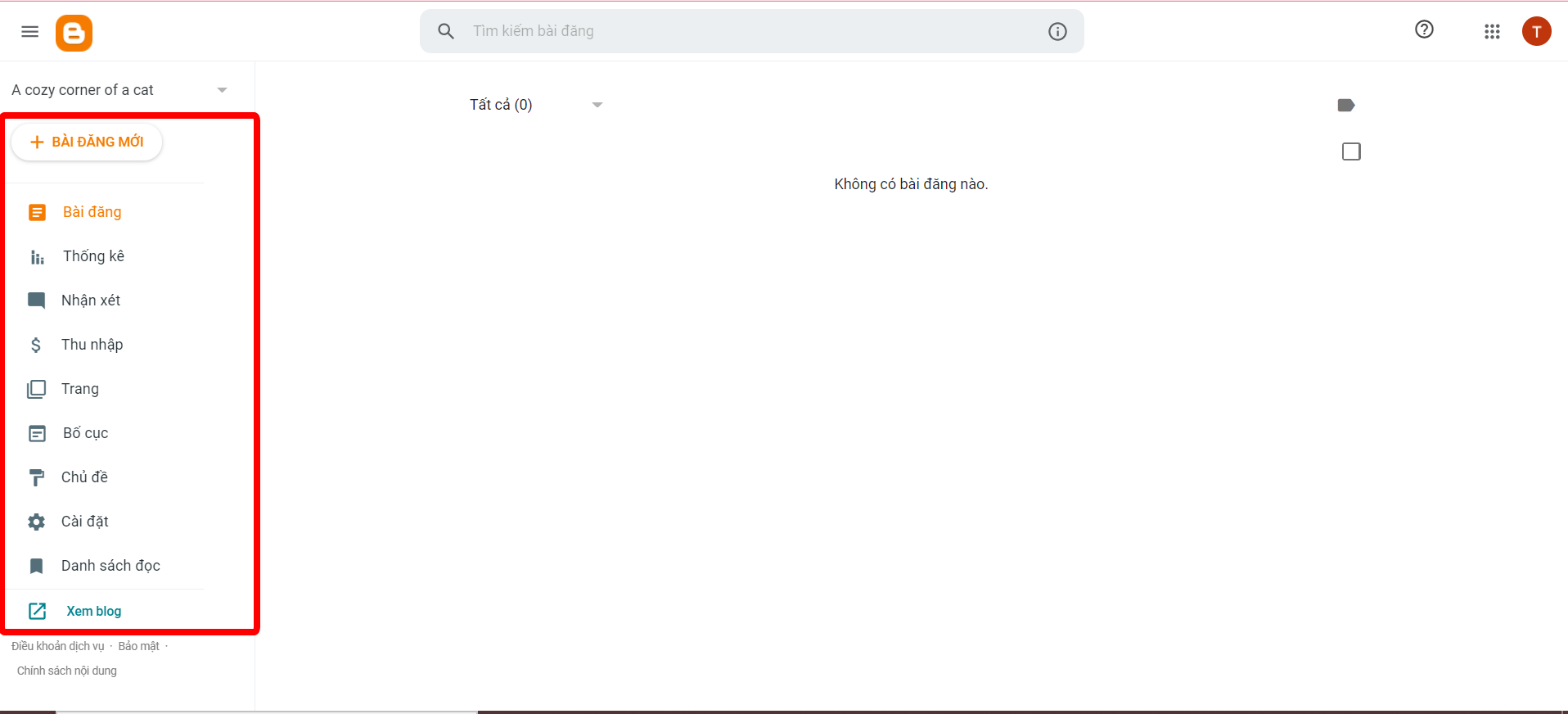 cách lập blogspot