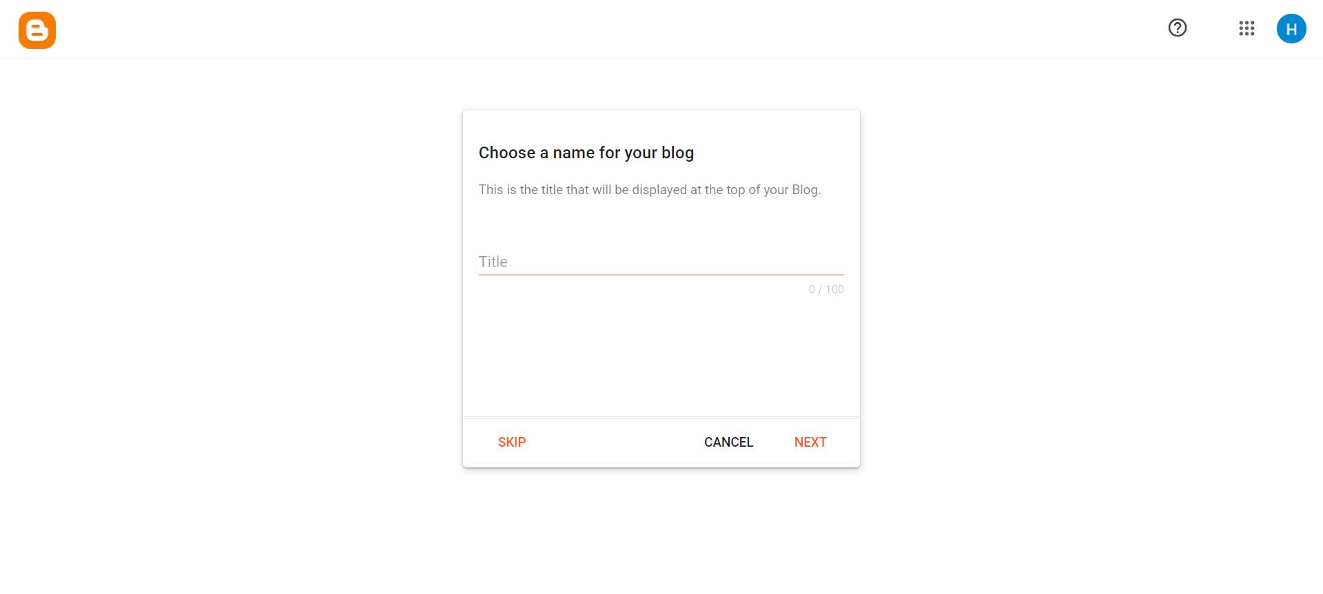 hướng dẫn blogspot