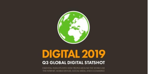 Digital 2019 toàn cầu trong quý 3 năm 2019