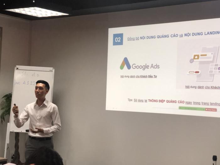 recap sự kiện Bùng nổ số cho môi giới với Google Ads