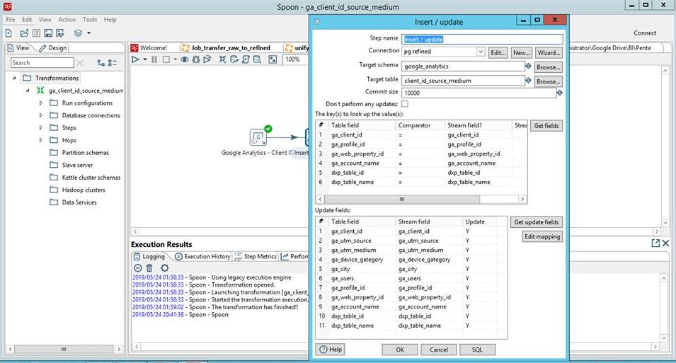 Bản phần mềm tự dựng Data Warehouse
