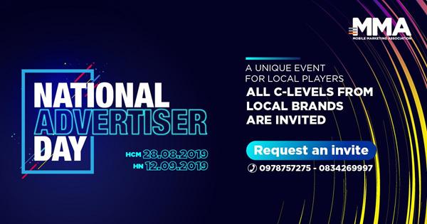 Hành trình của MMA với National Advertiser Day 2019