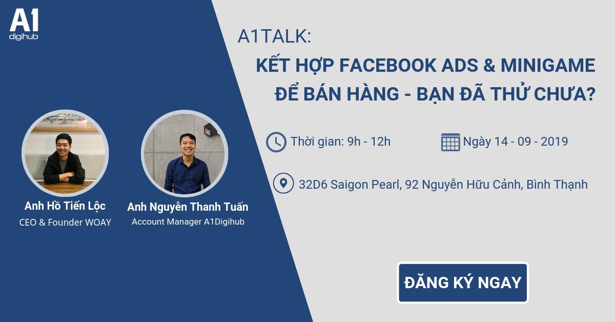 Workshop Facebook Ads minigame