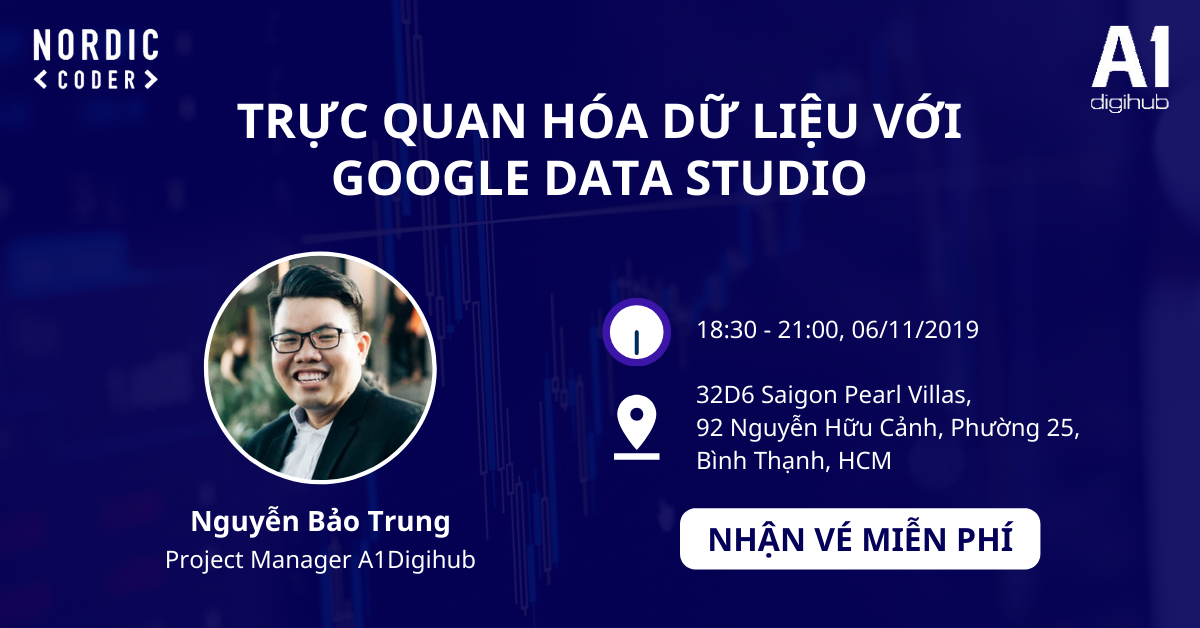 workshop Trực quan hóa dữ liệu với Google Data Studio