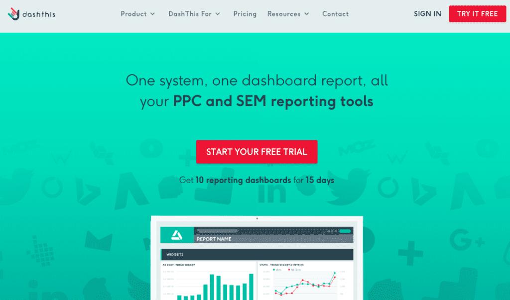 công cụ data report Dash This