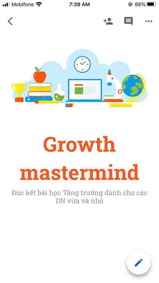 Ebook Growth Mastermind