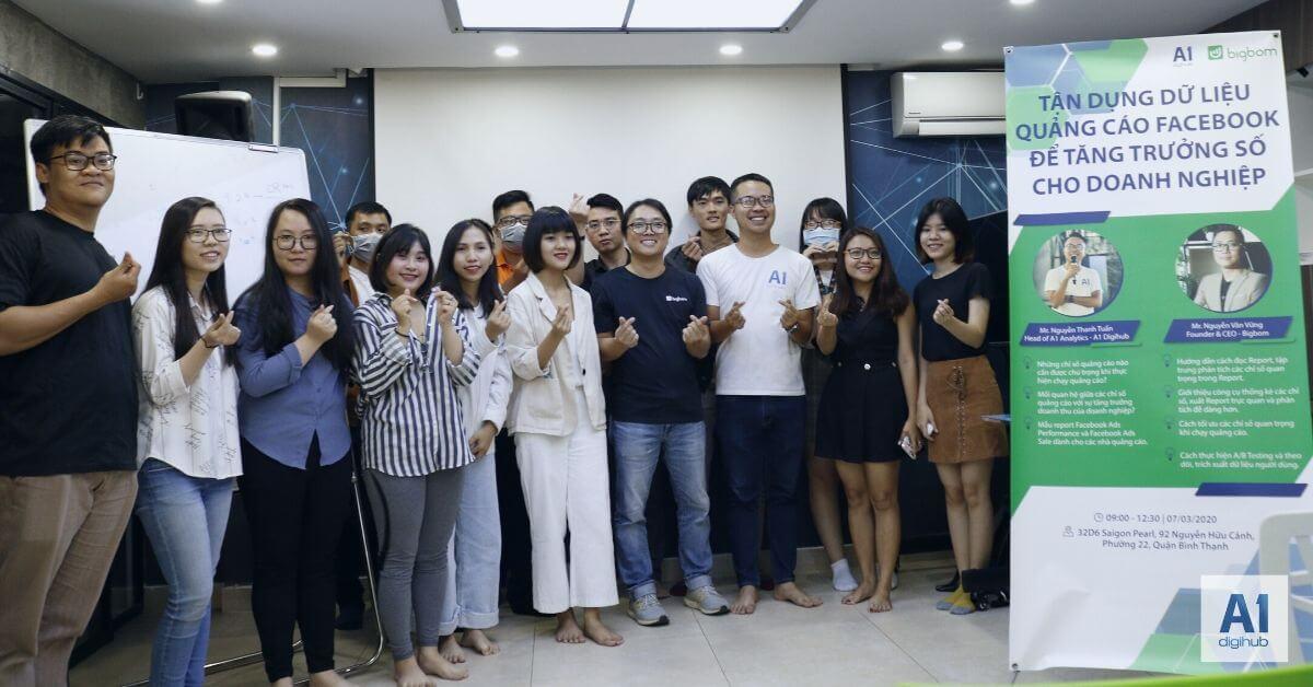 workshop Dữ liệu quảng cáo facebook a1digihub