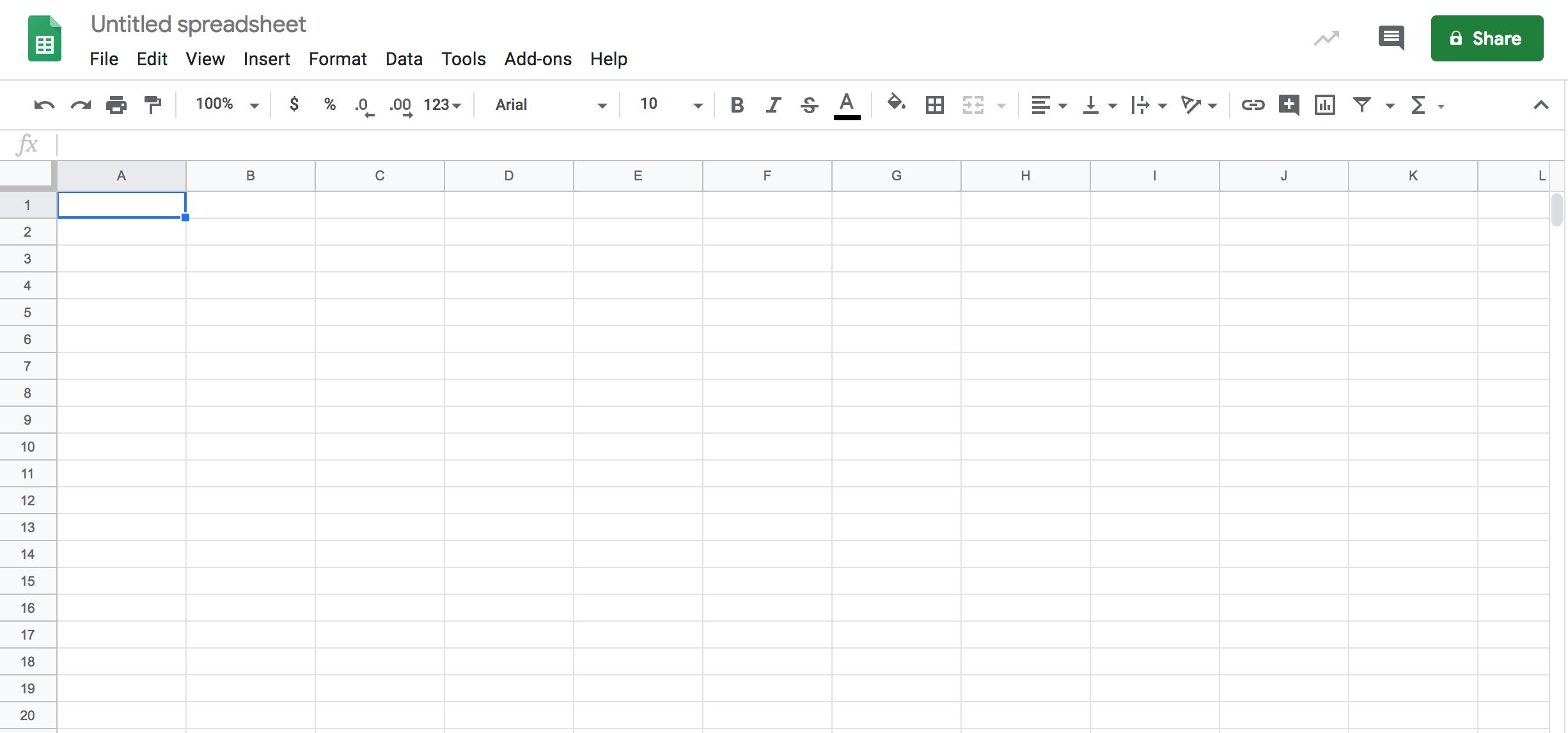 Google Sheets là lựa chọn thay thế Excel phổ biến và nổi tiếng nhất