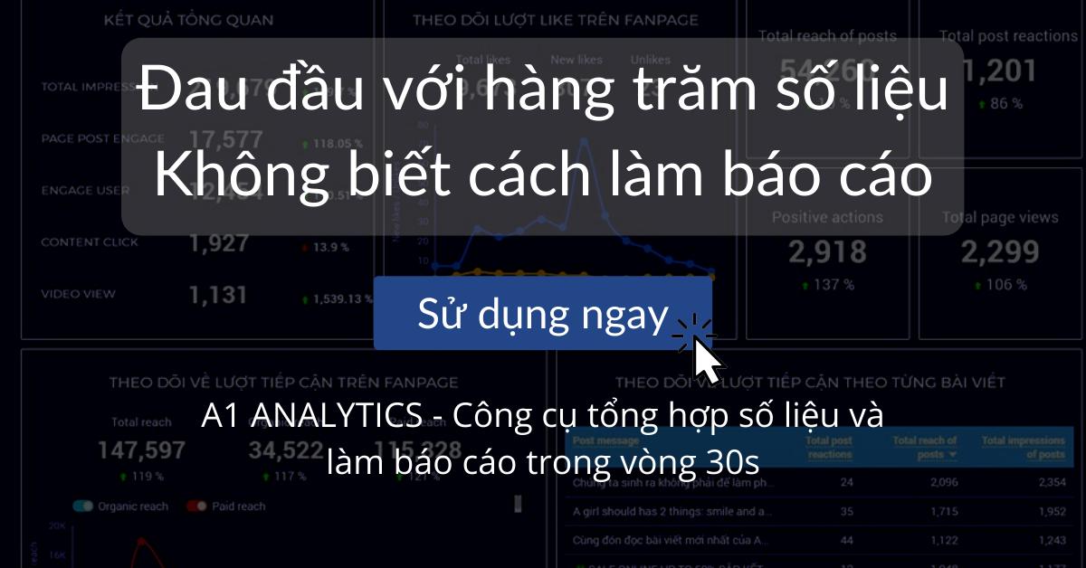 lam bao cao voi a1 analytics