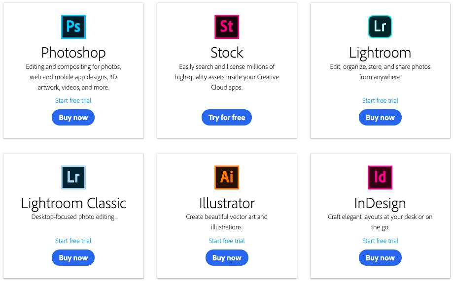 Các công cụ thiết kế ảnh