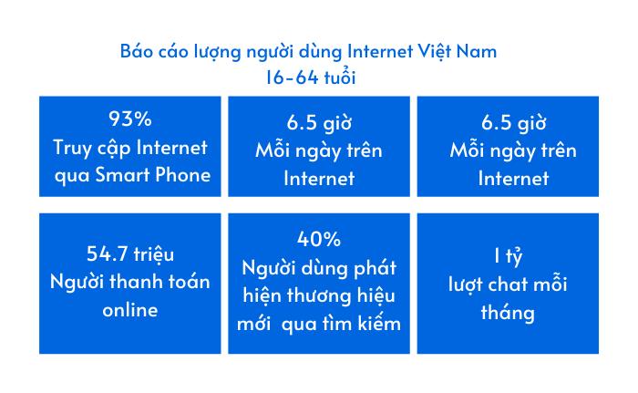 số liệu người dùng internet